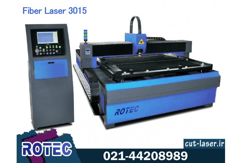دستگاه برش لیزر فایبر فلزات 3015